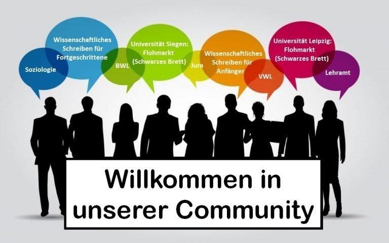 Titelbild Community