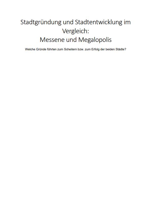 Titelseite Beispieltext
